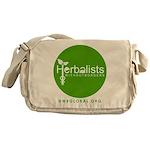 HWB Circle Logo Messenger Bag