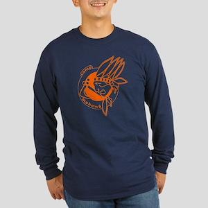 Camp Mohawk Long Sleeve Dark T-Shirt