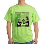 Dinosaur Service Animal Green T-Shirt