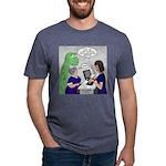 Dinosaur Service Animal Mens Tri-blend T-Shirt