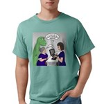 Dinosaur Service Animal Mens Comfort Colors® Shirt