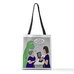 Dinosaur Service Animal Polyester Tote Bag