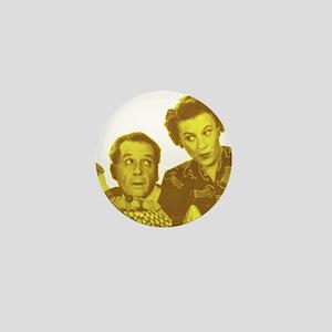 Fibber & Molly Mini Button