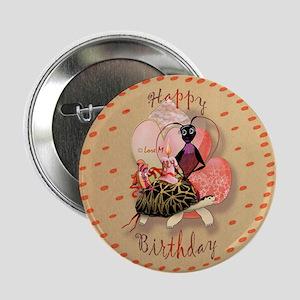 """""""Birthday"""" 2.25"""" Button"""