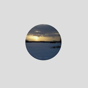 Winter Sunset 0238 Mini Button