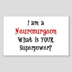 neurosurgeon Sticker (Rectangle)