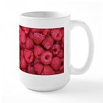 Raspberries Large Mug