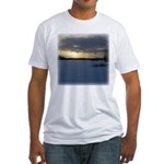 Winter Sunset 0238 Fitted T-Shirt