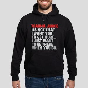 Trauma Junkie Hoodie (dark)