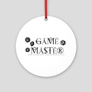 Game Master Ornament (Round)