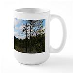 Clouded Whiteface Large Mug