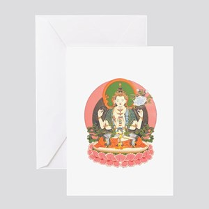 Chenrezig/Avalokiteshvara Greeting Card