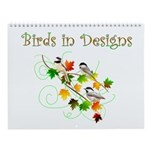 Birds in Designs Wall Calendar