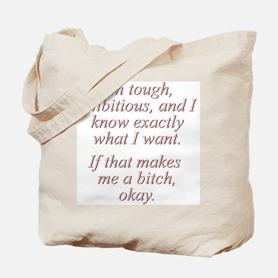 Madonna Quote Tote Bag