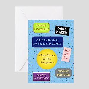 Nude Signs - Birthday Card