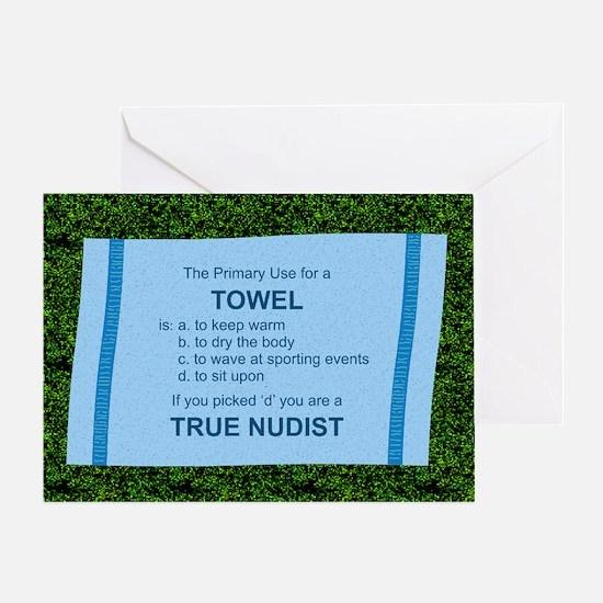 True Nudist - Birthday Card