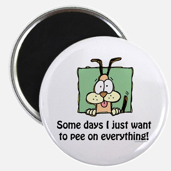 Pee on everything! Magnet