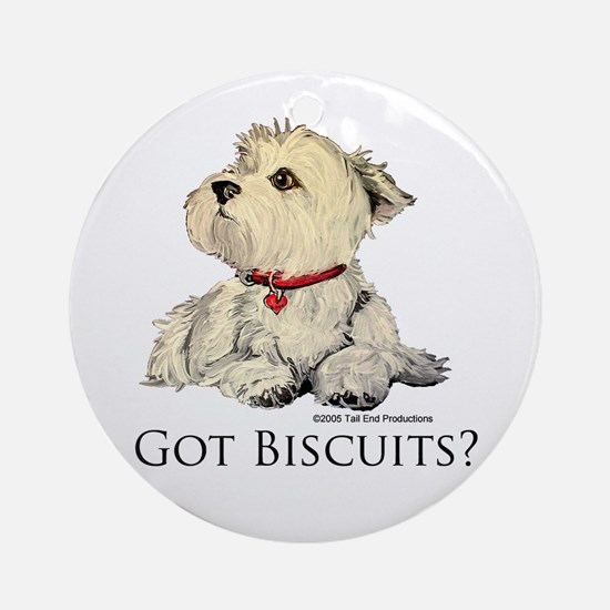 Got Biscuits? Ornament (Round)