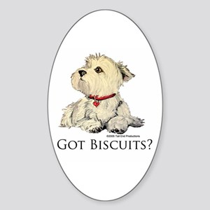 Got Biscuits? Oval Sticker