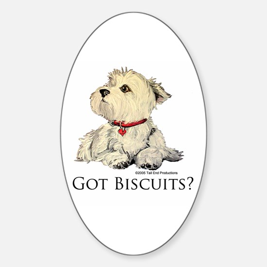 Got Biscuits? Oval Decal