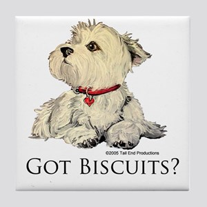 Got Biscuits? Tile Coaster
