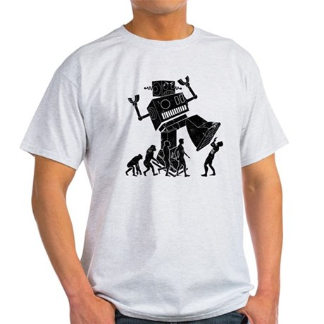 Robot Apocalypse Light T-Shirt