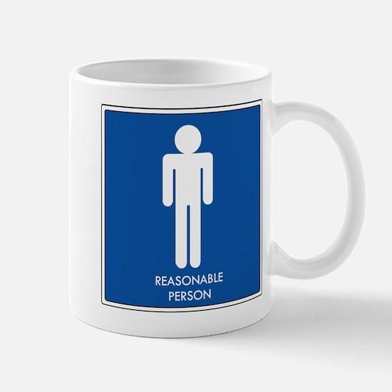 """""""Reasonable Person"""" Mug"""