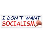 No Socialism (Bumper 10 pk)