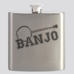 Bluegrass Banjo Flask