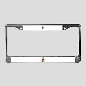 Maniacal Musician License Plate Frame