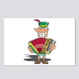 Maniacal Musician Postcards (Package of 8)