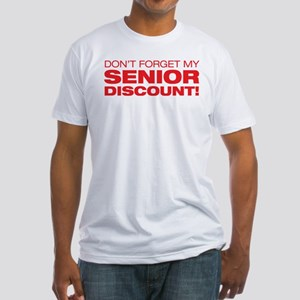 Senior Discount Fitted T-Shirt