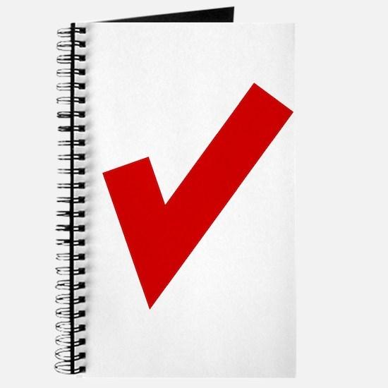 Red Checkmark Journal