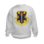 12TH TACTICAL FIGHTER WING Kids Sweatshirt