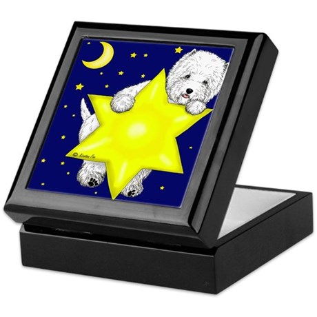Westie Star Keepsake Box