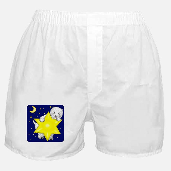 Westie Star Boxer Shorts