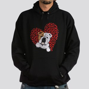 English Bulldog Lover Hoodie (dark)