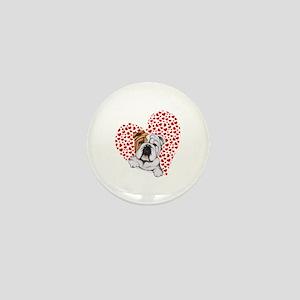 English Bulldog Lover Mini Button