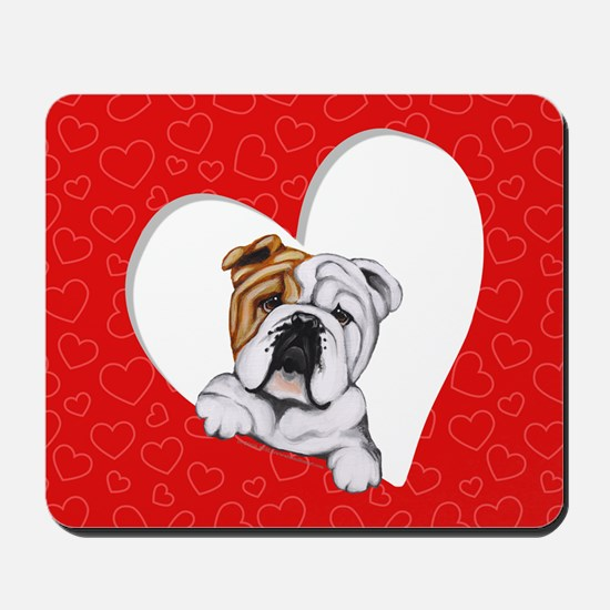 English Bulldog Lover Mousepad