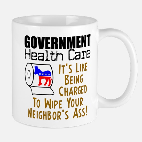 """Government Health Care"" Mug"