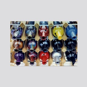 Bottles - Rectangle Magnet