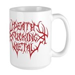Death F'ing Metal Large Mug