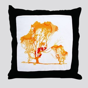 Treemains Throw Pillow