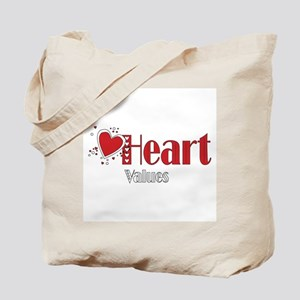 Heart Values Tote Bag