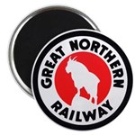 Great Northern Round Magnet (10 pack)
