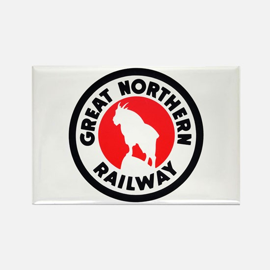 Great Northern Rectangle Magnet