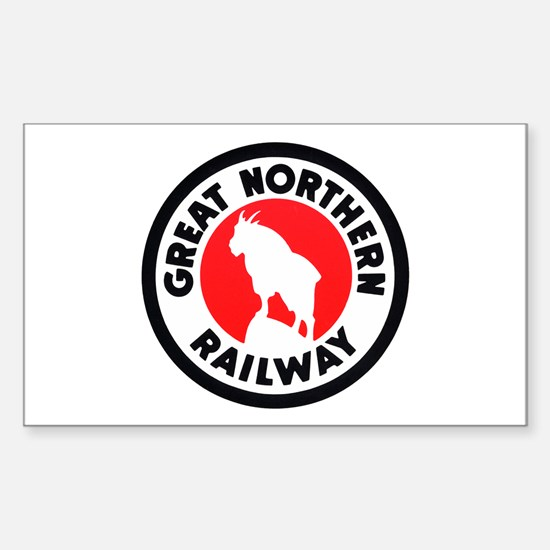 Great Northern Rectangle Decal