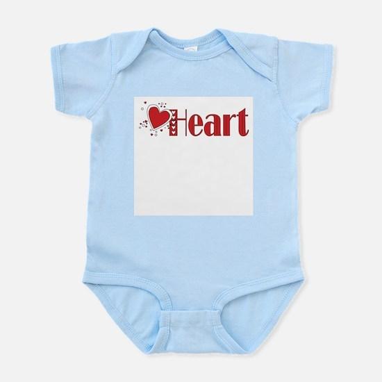 Heart Infant Creeper