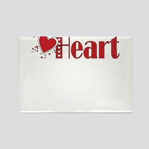 Heart Rectangle Magnet