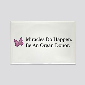 Organ Donation Awareness Rectangle Magnet